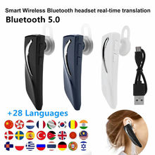 33 Languages Intelligent Translator Bluetooth 5.0 Earphone Wireless Headset