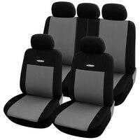 Cobertura completa de fibra linho cobertura assento do carro assentos automóveis capas para nissan murano z51 navara d40 nota primera p12 qashqai j10 j11 rogu|Capas p/ assento de automóveis| |  -