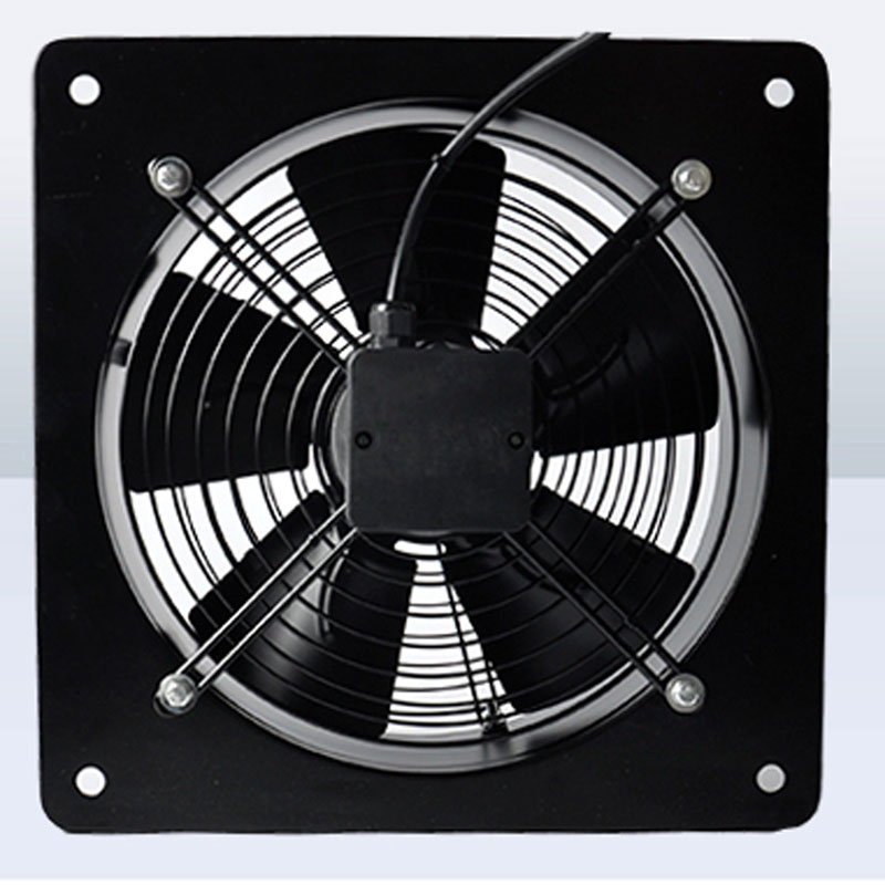 16inch 220/380V 180/300W Square Outer Rotor Axial Fan Industrial fan Suitable for Workshops, Warehouses, etc