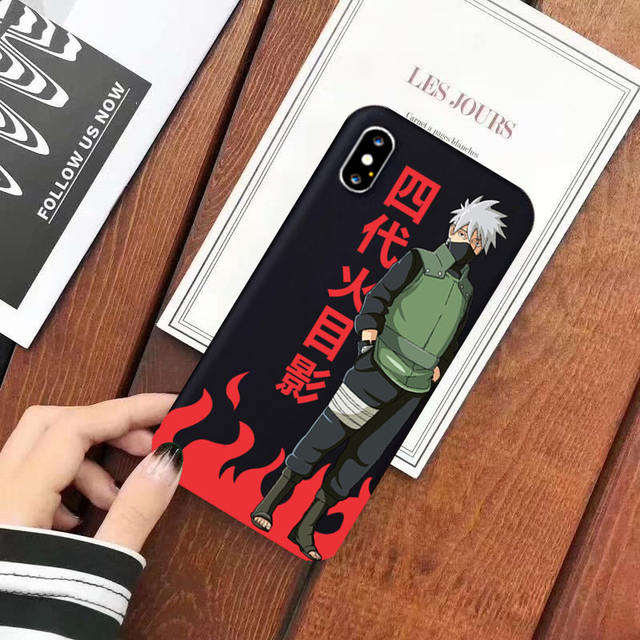 NARUTO THEMED IPHONE CASE (7 VARIAN)