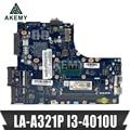 ZIUS6 / S7 LA-A321P материнская плата для For Lenovo S310 M30-70 материнская плата для ноутбука CPU i3 4010U DDR3 100% тестовая работа