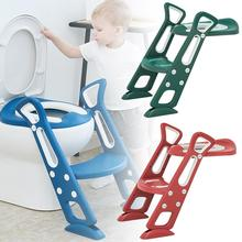 Baby Potty Training Seat Children's Potty With Adjustable Ladder Infant Baby Toilet Seat Non-slip Toilet Training Folding Seat
