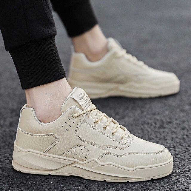 BIGFIRSE נעליים יומיומיות לגברים הליכה אופנה גברים נעלי נעלי גברים נוחים חיצוני מותג פנאי נעלי Zapatillas Hombre