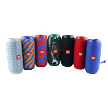 25#TG117 Bluetooth Outdoor Speaker Waterproof Portable Wireless Column Loudspeaker Box Support TF Card FM Radio Aux Input