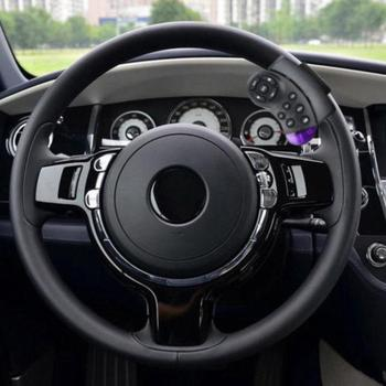 Simple installation Car Audio Car Bluetooth Handsfree FM Phone Wheel Transmitter Player Steering Car MP3 Remote System H5N4 image