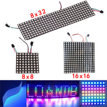 ws2812b led Pixels light strip 8x8 16x16 8x32 ws2812 leds Pa