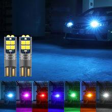 Комплект из 2 предметов t10 w5w светодиодный canbus автомобильный