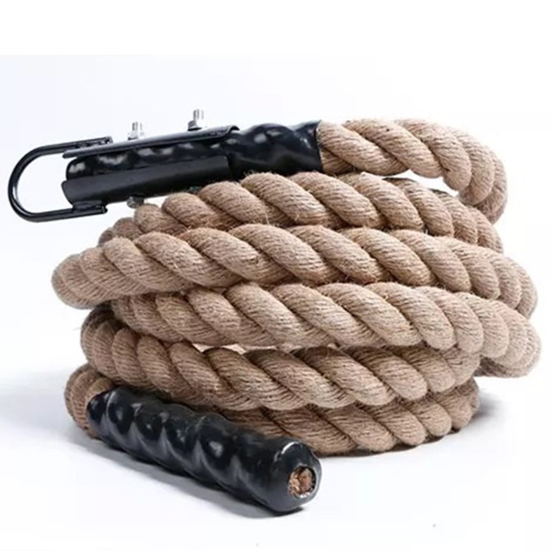 50mm*3m/4m/5m/6m Durable Climbing Rope Training Fitness Comfortable Grip Gym Fitness Muscle Strength Training Equipment A9225