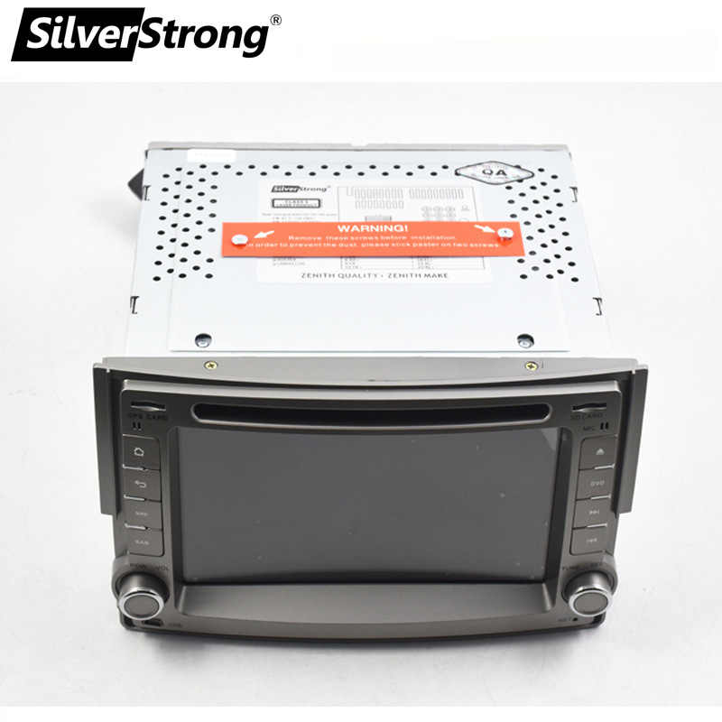 SilverStrong Android Car Radio DVD 2Din para Hyundai H1 STAREX T8 Android 32GB rom Navitel Android DVD GPS