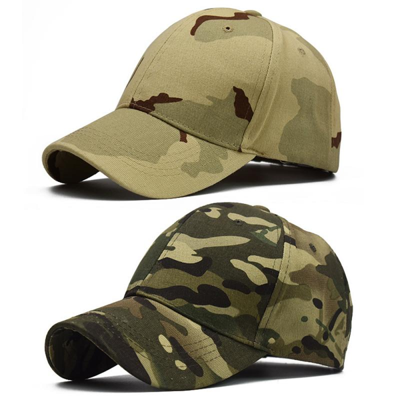 100% Cotton Outdoor Sport Climbing Caps Camouflage Hat Simplicity Military Army Camo Hunting Cap For Men Adult Cap