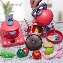 Enfants cuisine jouets Simulation cuisine jouer maison jouets éducatifs Mini cuisine ustensiles de cuisine Pan semblant jouer des jouets de jeu de rôle