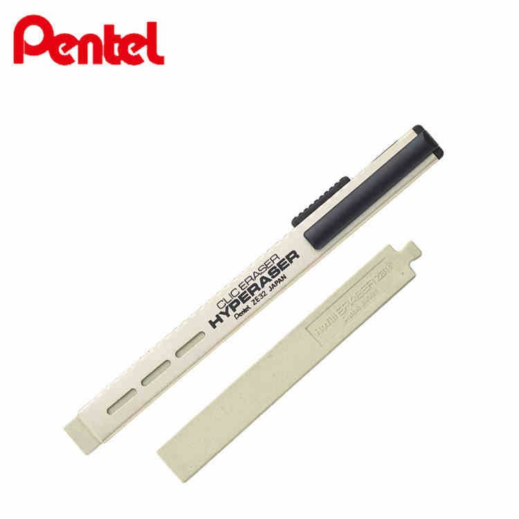 Pentel ZE32 Clic Eraser Hyperaser Rubber Eraser Japan For Drawing Pencil  Unisex Pen Premium Rubber Ballpoint Pen