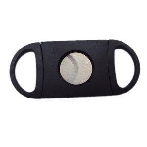 Image 3 - ダブルブレードシガーカッターシャープナイフ喫煙ツールシガーアクセサリーステンレス鋼はさみ