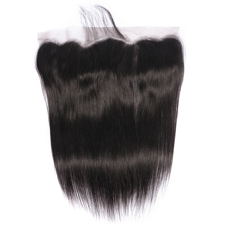 Image 5 - BY 13x6 Bundles With Frontal Straight Hair Bundles With Closure Peruvian Human Hair Bundles Remy Hair Extensiaon  Natural Colo-in 3/4 Bundles with Closure from Hair Extensions & Wigs