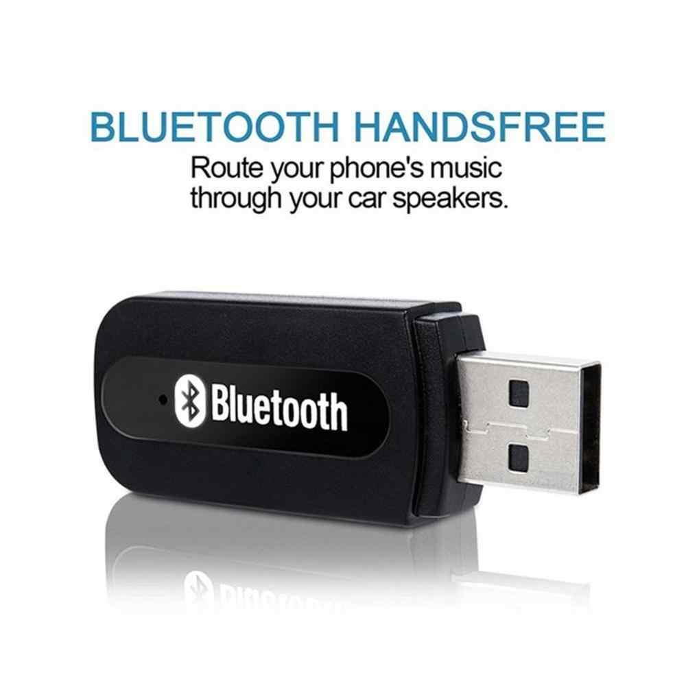 BT-163 récepteur Audio Bluetooth 3.5mm double sortie sans fil récepteur de musique adaptateur Bluetooth USB AUX récepteur Audio de voiture