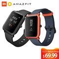Huami reloj inteligente Amazfit Bip versión juvenil Pace Lite Bluetooth 4,0 GPS Frecuencia Cardíaca 45 días batería IP68