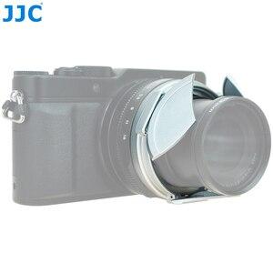 Image 4 - JJC Noir Argent Auto Lens Cap pour Panasonic LUMIX DMC LX100 et LEICA D LUX (Typ 109) Caméra