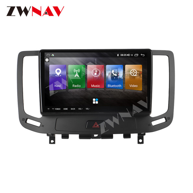 IPS DSP Android 9 IPS Screen Car Multimedia For Infiniti G ser Co One Outback Radio Tape Recorder Head unit Car Multimedia Playe 5