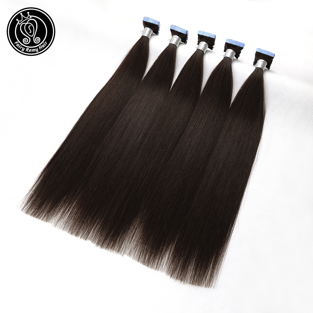 Tape On Hair Extensions Adhesive PU Skin Weft 100% Real Remy Human Hair 16