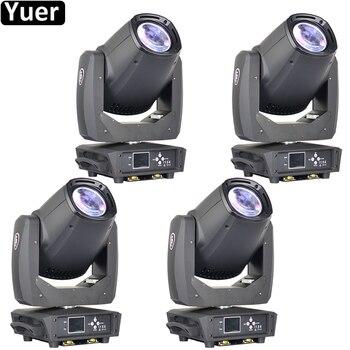 цена на 4Pcs/Lot New 230W LED Beam Spot Moving Head Light Fast Silent Rotation 8 Prism GOBO LED Moving Head Spot DJ Disco Party Stage