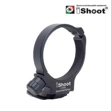 IShoot Objektiv Kragen Tripod Mount Ring für Canon EF 100mm f/2,8 L IS USM Macro ersetzen Objektiv unterstützung Halterung Canon D(B) IS C 100L