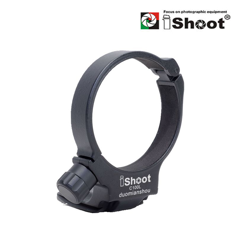 Replace Canon Tripod Mount Ring D iShoot Lens Collar Support Compatible with Canon EF 100mm f//2.8L Macro IS USM Lens Tripod Mount Ring Built-in ARCA Type Camera Quick Release Plate for Tripod Head