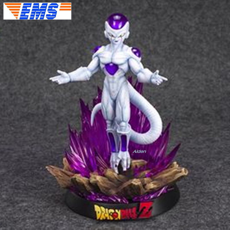 "9"" Dragon Ball Z Statue Universe Boss Bust Final Form Frieza Full-Length Portrait With LED Light GK Action Model Toy BOX Z2796"