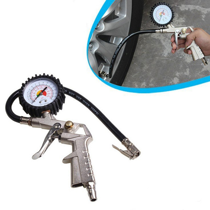 High-Precision Tire Pressure Gauge Of Automobile Car Tire Pressure Table Tire Barometer Pressure Gage Tire Pressure Inflation