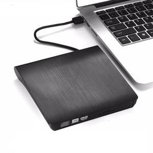 Tragbare ultra Externe CD DVD Drive USB 3,0 Optische Laufwerk Brenner Writer für Laptop Desktop Mac MacBook etc. .. Für Freies Verschiffen