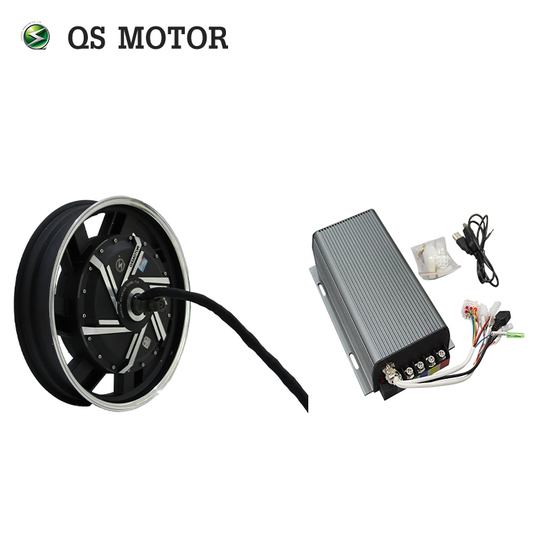 <font><b>QS</b></font> <font><b>Motor</b></font> 16inch <font><b>273</b></font> 3000W Electric Motorcycle Kit/E Motorcycle Kit / Electric Motorcycle Conversion Kit with SVMC72150 image