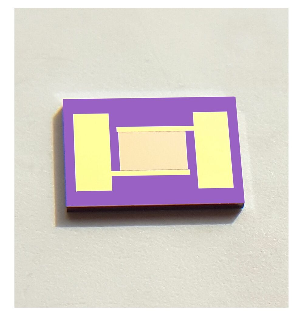 8um Single Crystal Silicon Fork Finger Electrode High Precision And High Stability Sensor