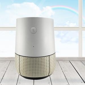 Image 5 - Gosear ファッション Pu レザーの交換スピーカーアシスタントィスプレイベーススタンドホルダー google のホームアクセサリー