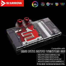 Water-Block Barrow for Gaming-Z Rtx2060/Aurora/Lrc2.0/.. Full-Coverage-Gpu