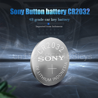 10PCS SONY CR2032 CR 2032 DL2032 ECR2032 BR2032 3V Lithium Battery For Watch Toy Calculator Car Remote Control Button Coin Cell 2