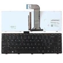 Клавиатура для ноутбука DELL Inspiron 14R N4050 M4040 N4110 N4120 M4110 M521R 14R 5420 7420 15R 5520 SE, подсветка США
