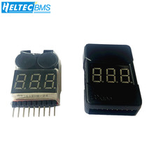 Digital 2 IN 1 1S-8S lithium battery Low Voltage indicator buzzer Alarm module for Lipo/Li-ion/Fe RC Helicopter Battery Tester f00872 lipo battery voltage tester volt meter indicator checker dual speaker 1s 8s low voltage buzzer alarm 2in1 2s 3s 4s 8s