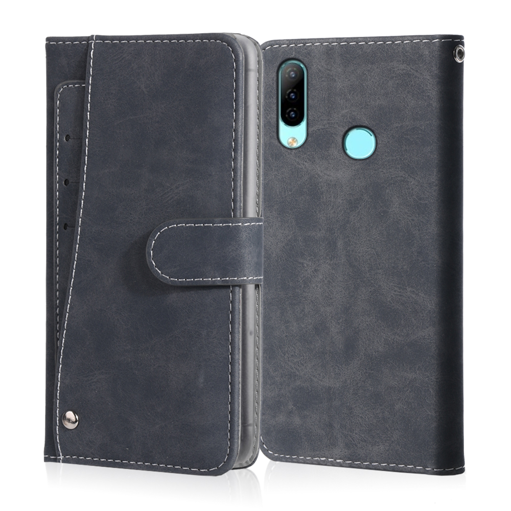 Luxury Vintage Case For <font><b>HomTom</b></font> P30 Pro HT80 HT16S H10 H5 C13 C1 C2 <font><b>C8</b></font> S12 S17 S99 Case Leather Flip Wallet Card Phone Cover image