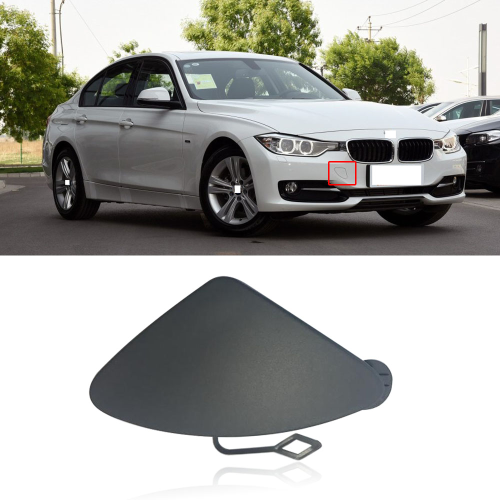 Front Bumper Tow Hook Eye Cover Cap For BMW 3 Series F30 F31 328i 335i 320i 335i