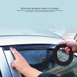 Черная хромированная лента для кузова автомобиля, бампер, защитное литье для дверей автомобиля, окон, гибкая наклейка для отделки, защитное ...