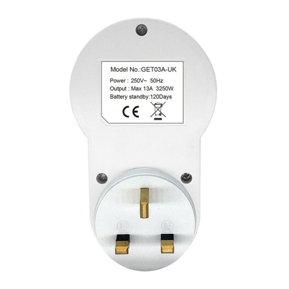 LCD Display Digital Programmable Timer Power Timing Socket Switch 220V-240V Digital Timer Digital Timer Socket
