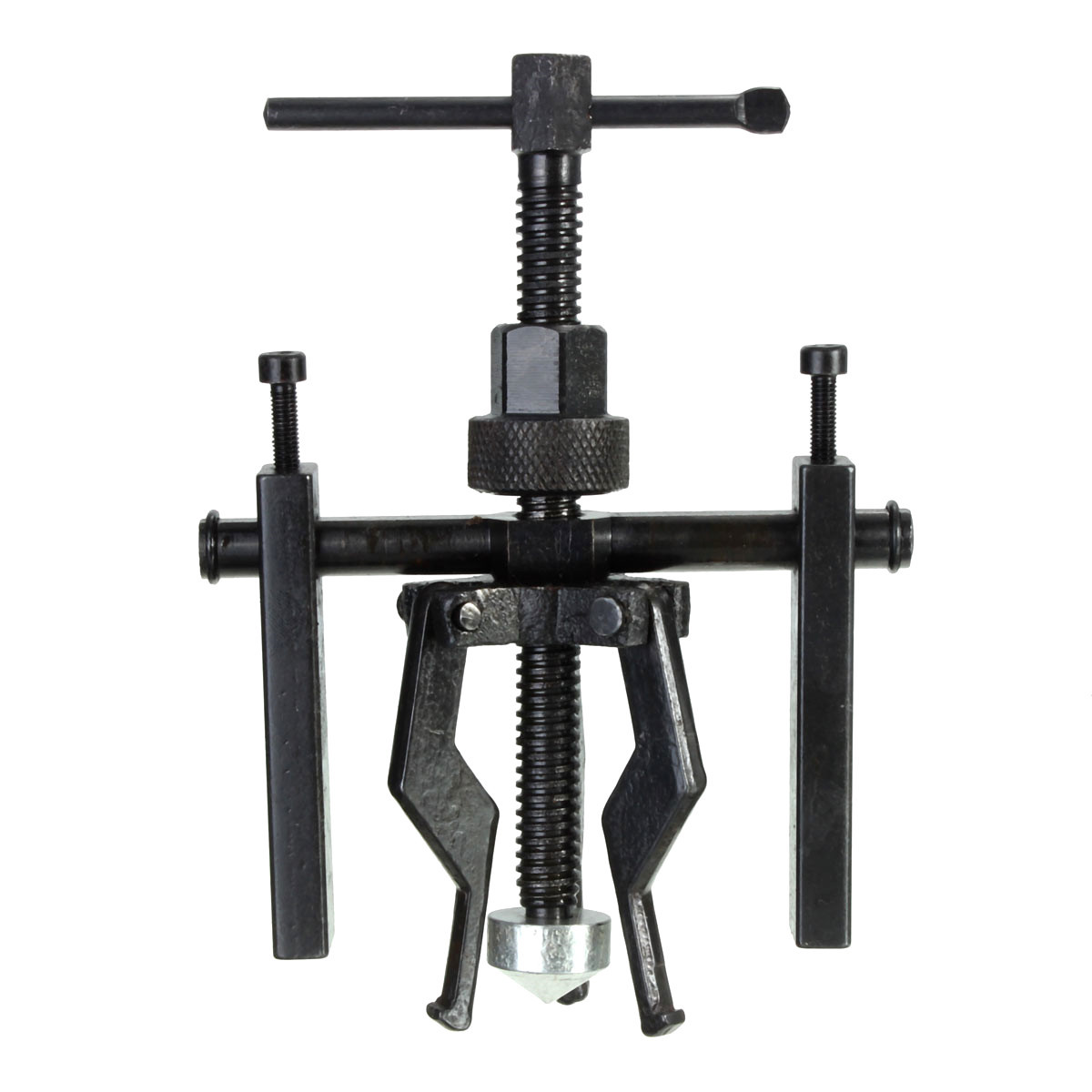 1pcs carbon steel Black 3-Jaw Inner Bearing Puller Tool Pull-out Rammer Bearing Disassembly and Maintenance Tool