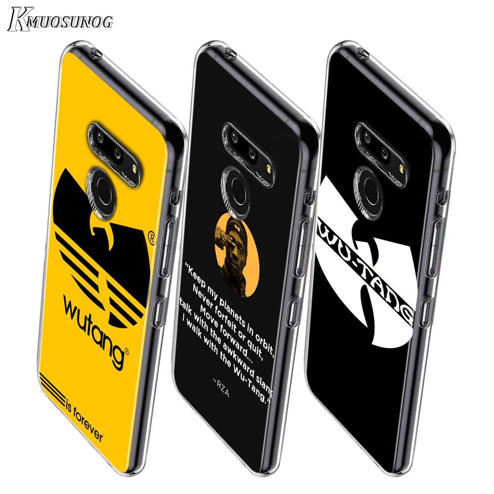 Wu Tang Fashion Style For LG W20 W10 V50S V50 V40 V30 K50S K40S K30 K20 Q60 Q8 Q7 Q6 G8 G7 G6 Thinq Phone Case