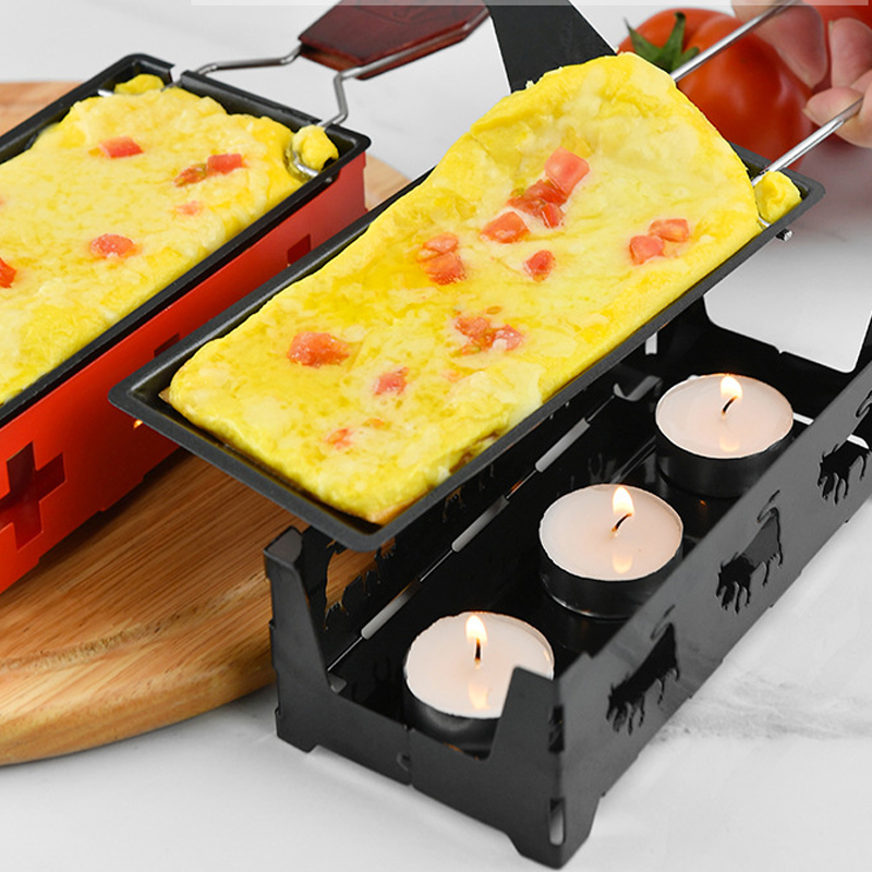 Mini Swiss Cheese Roasters Baking Set Tray Home Oven Non Stick Pan Dish Home Baking Oven BBQ Tools(China)
