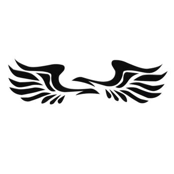 50% HOT SALES!!!1 Pair Wing Style Car Truck Rearview Mirror Decal Reflective Sticker Decoration image
