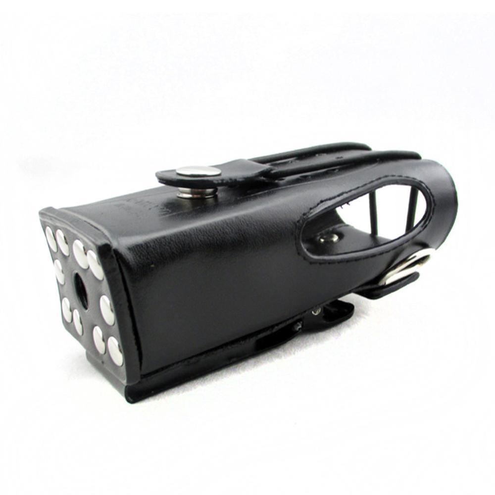Walkie Talkie Cover Suitable for TK-2207/3207G Walkie-talkieLleather Case Leather Two-layer Protective