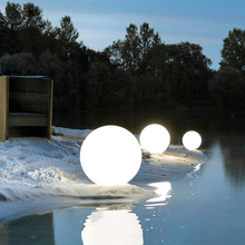 Light Lamps Swimming-Pool-Floating-Ball Remote-Control Landscape Garden Outdoor Rechargeable