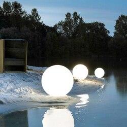Светодиодный светильник с дистанционным управлением для сада и бассейна, перезаряжаемый, водонепроницаемый, светодиодный