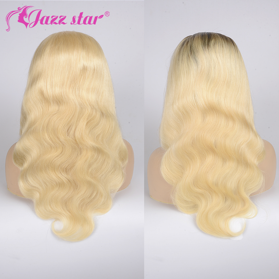 Hb2ebb0ddc8ed45e5ae2f05bd575793d4I Brazilian Wig 4x4 Lace Closure Wig 613 Blonde Wig Body Wave Human Hair Wigs for Black Women 150% Density Jazz Star Hair Non-Remy