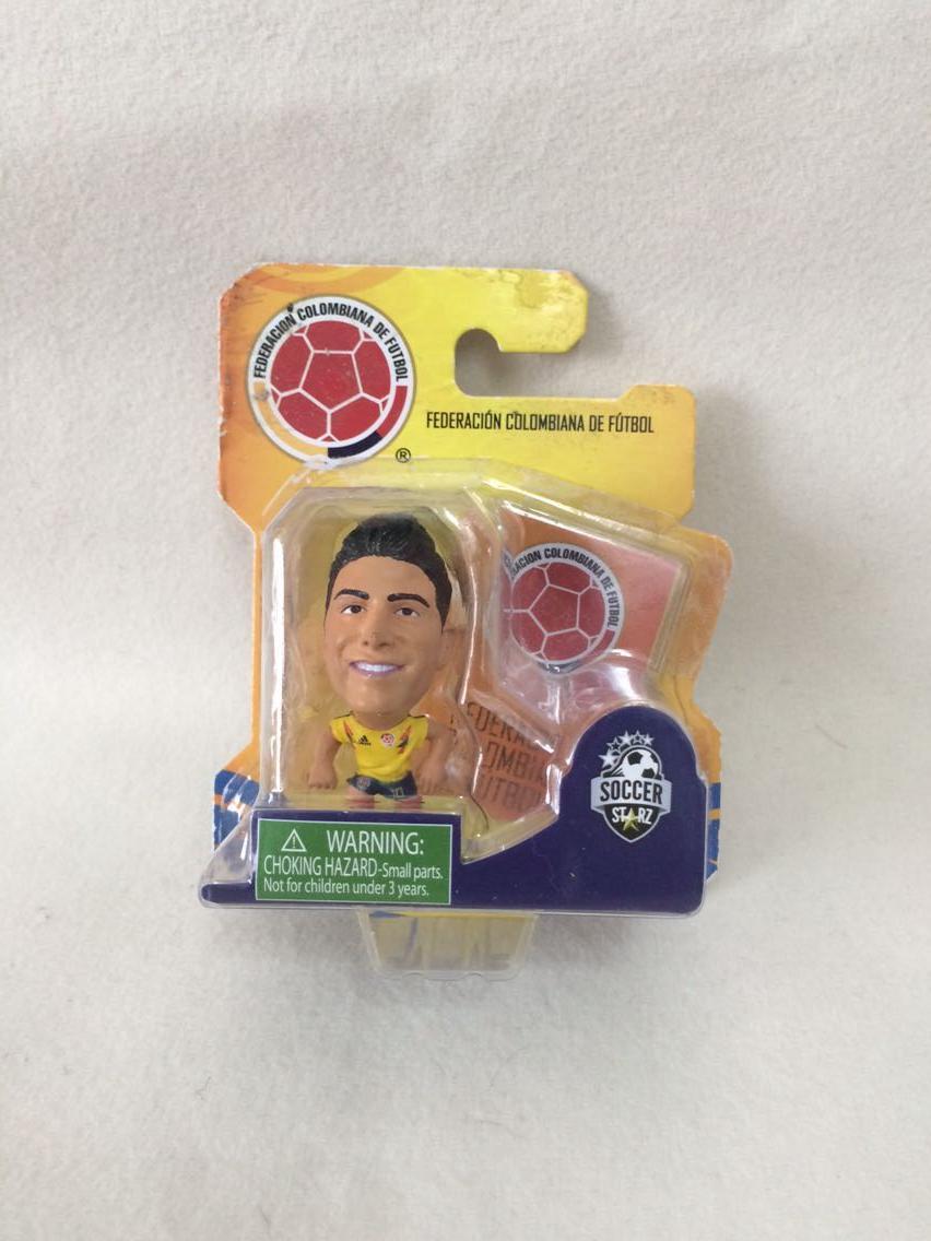 Soccerstarz, Colombia, James, David Rodriguez, Rubio, modelo de Mini muñeca genuina (caja Original)