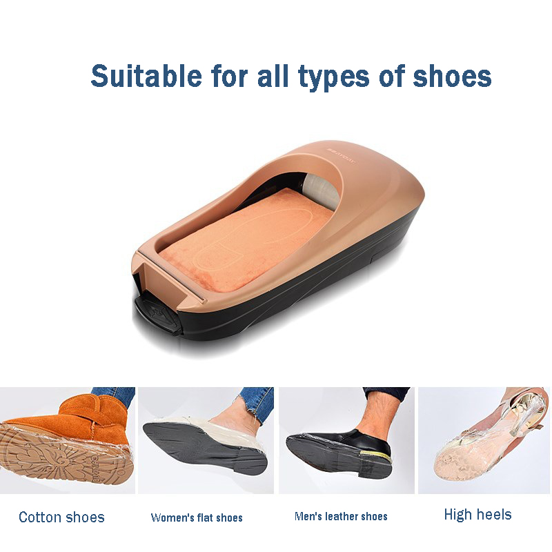 Manufacturers Of Shoes Machine Automatic Shoe Cover Machine Shoe Polishing Equipment Kit Set Foot For Home New Shoes Tool